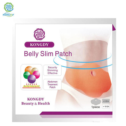 5 Pieces Abdomen Weight Loss Fat burning Slim Patch 100 Natural Ingredients