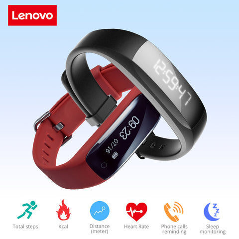 Bluetooth 4.2 Heart Rate Moniter Pedometer Sports Fitness Tracker