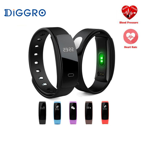 Smart Blood Pressure Measure Heart Rate Monitor