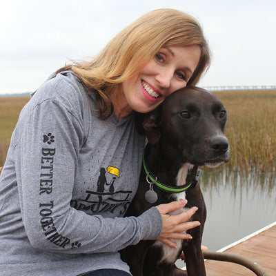 "Dr. Buzby's ""Dog Mom"" Hoodie"