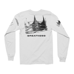 Crown of Greatness White Long Sleeve