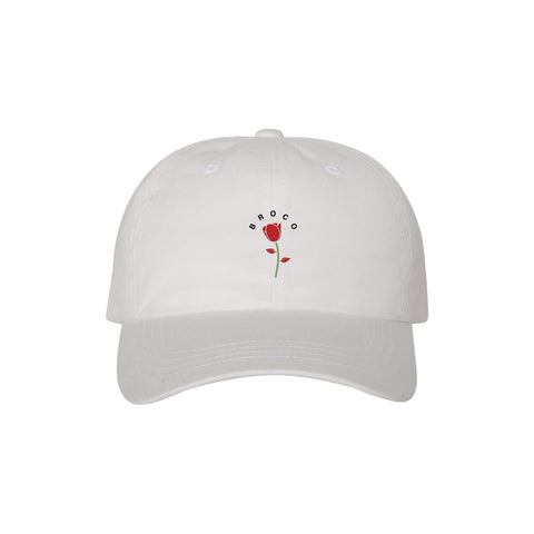 Pretty Flower Cap White