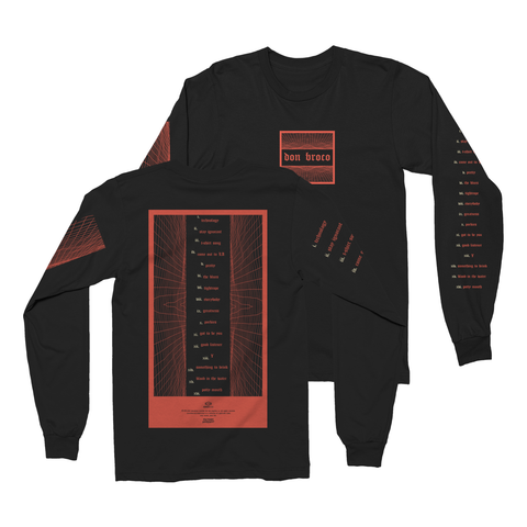 Track Listing Long Sleeve