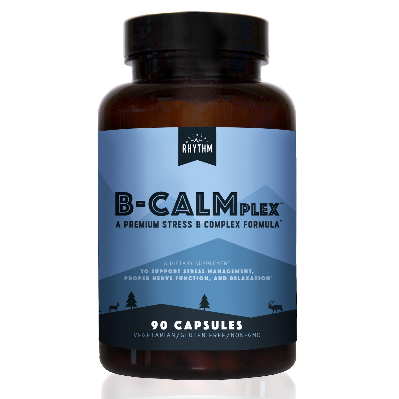 B-CALMplex - Stress B-Complex - Vitamin B Complex for Stress & Anxiety