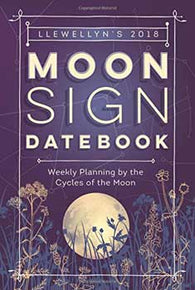 Moon Sign Datebook, 2018, by Llewellyn