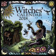 Witches' Calendar, 2018 by Llewellyn