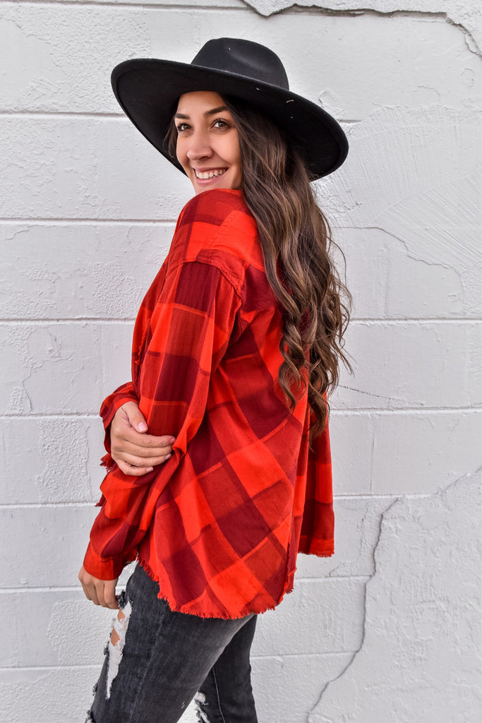 Bright Holidays Red Flannel