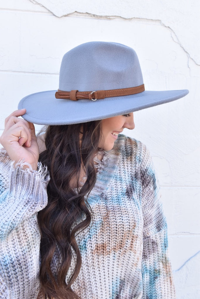 The Charolette Hat- Grey