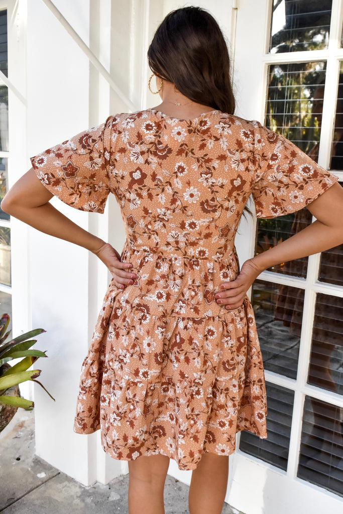 Sunday Brunch Button Up Dress - Vogue Society