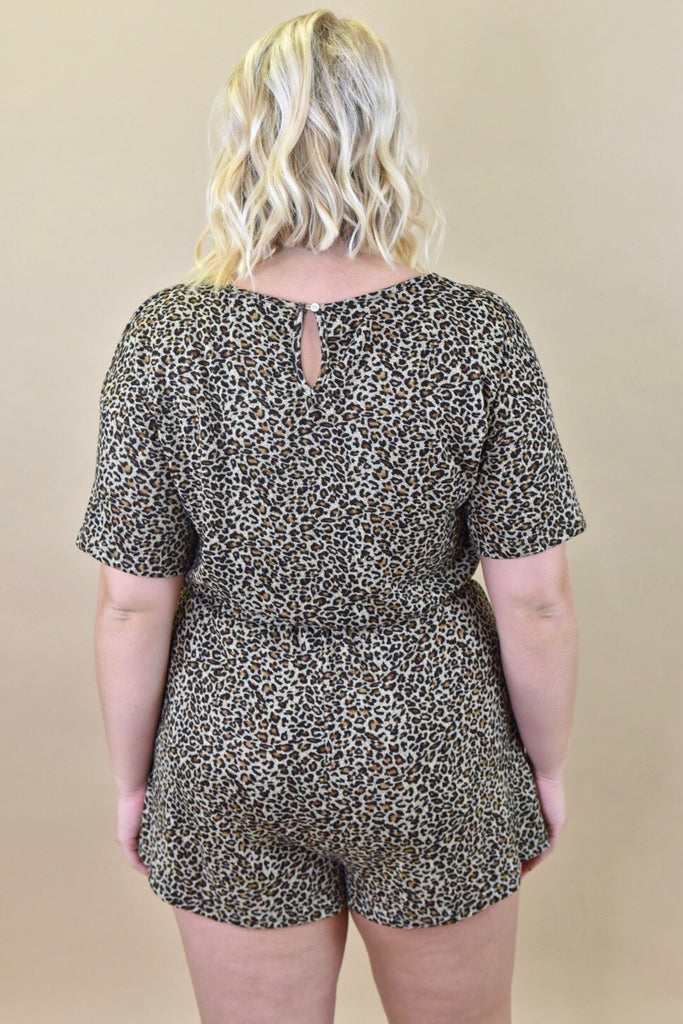 Luxurious Leopard Romper
