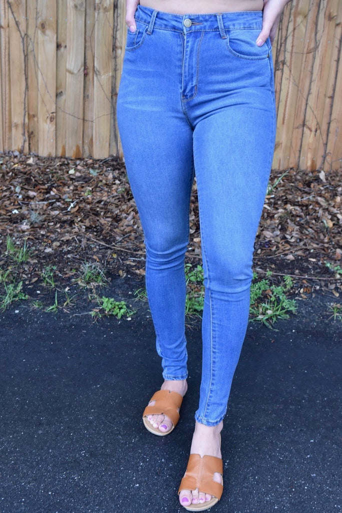 Essential High Rise Skinny Jean