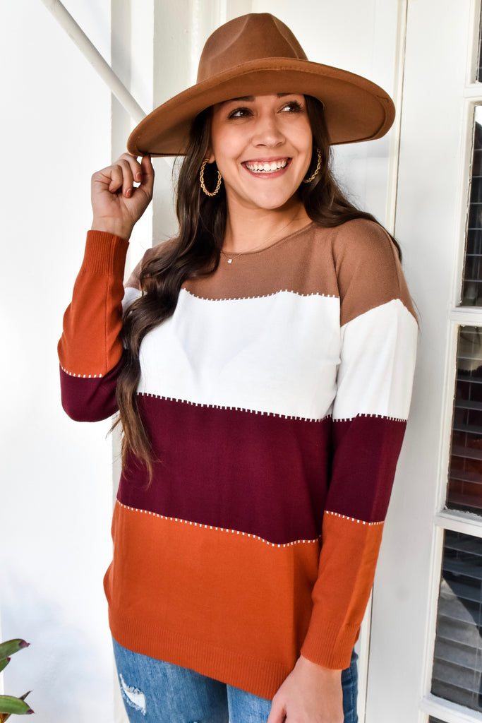 The Valley Colorblock Sweater