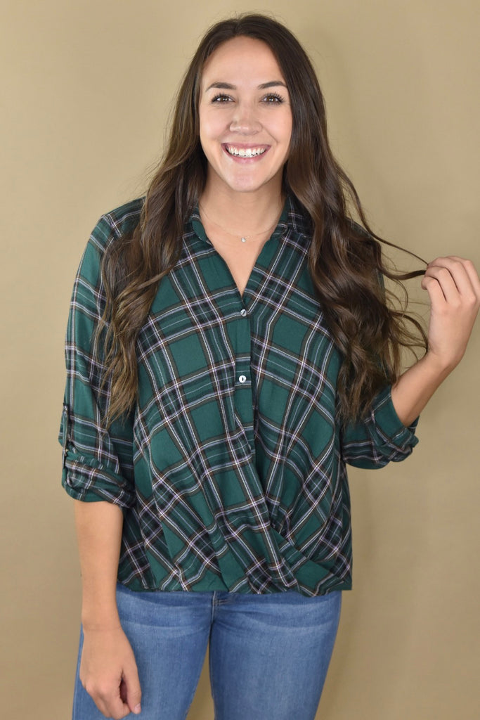 Crossover Twist Flannel