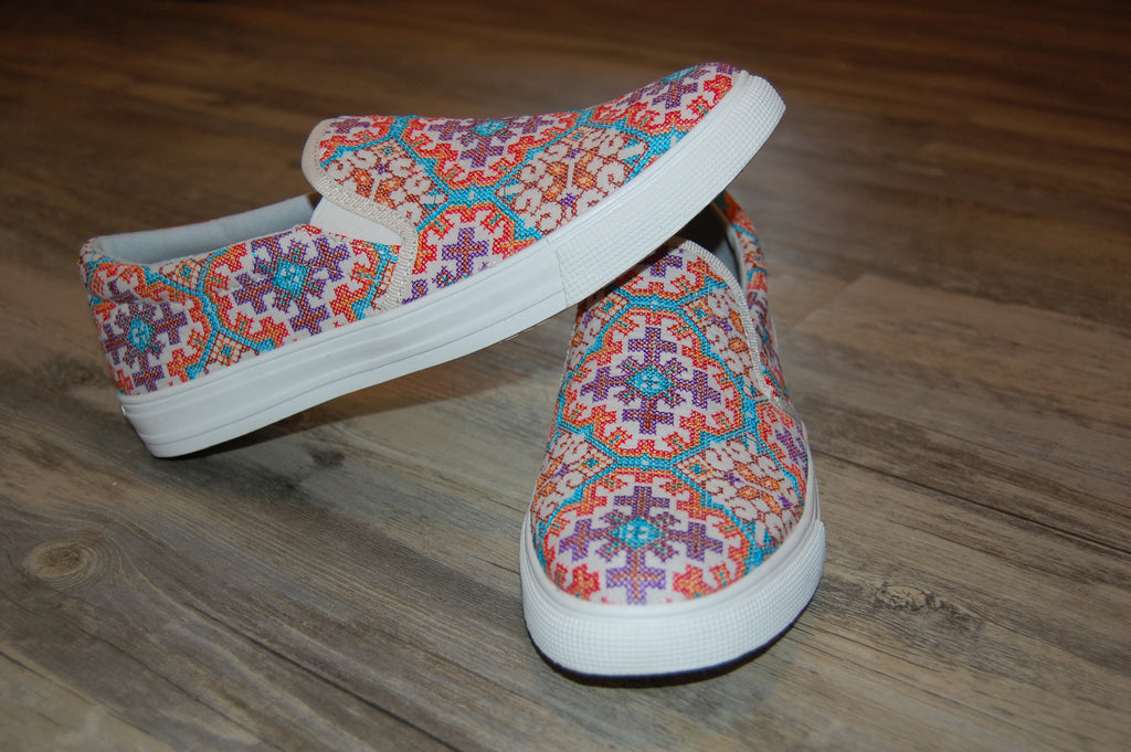Kaleidoscopic Slip-On Sneaker