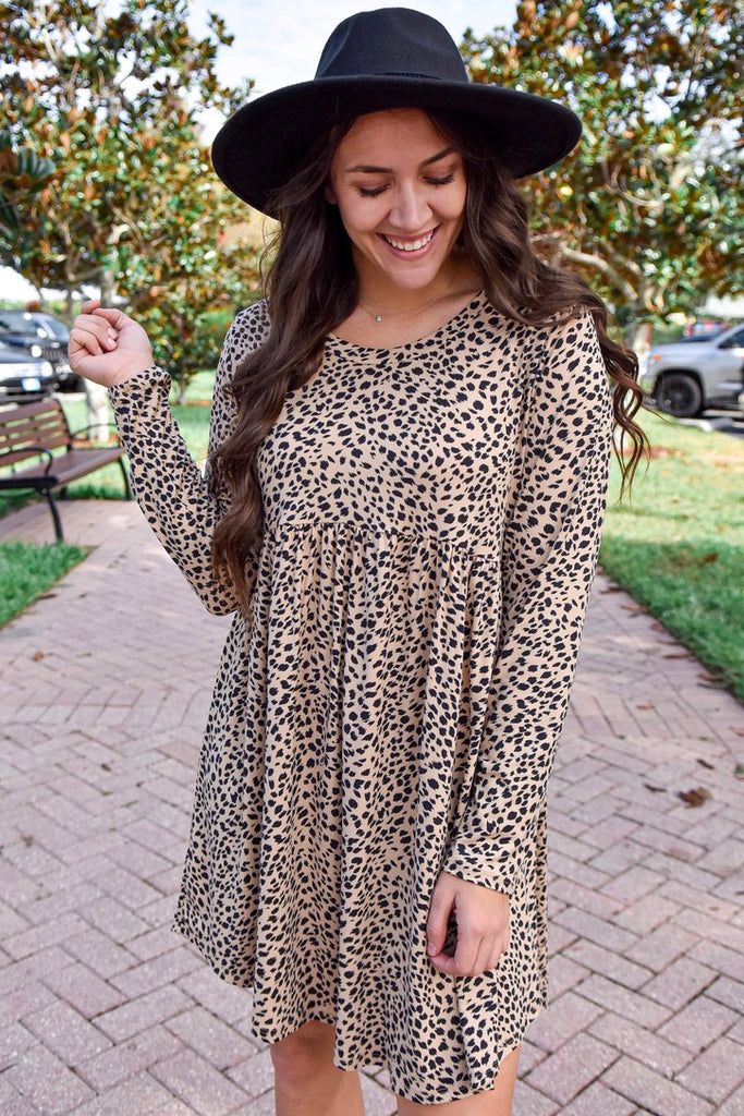 Memphis Leopard Dress