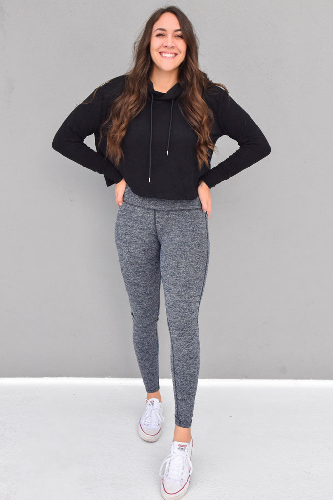 The Primo Charcoal Legging