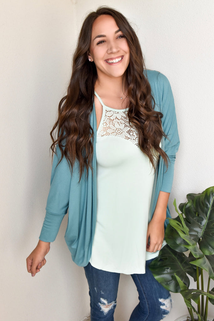 Bubblie Blue Cardigan