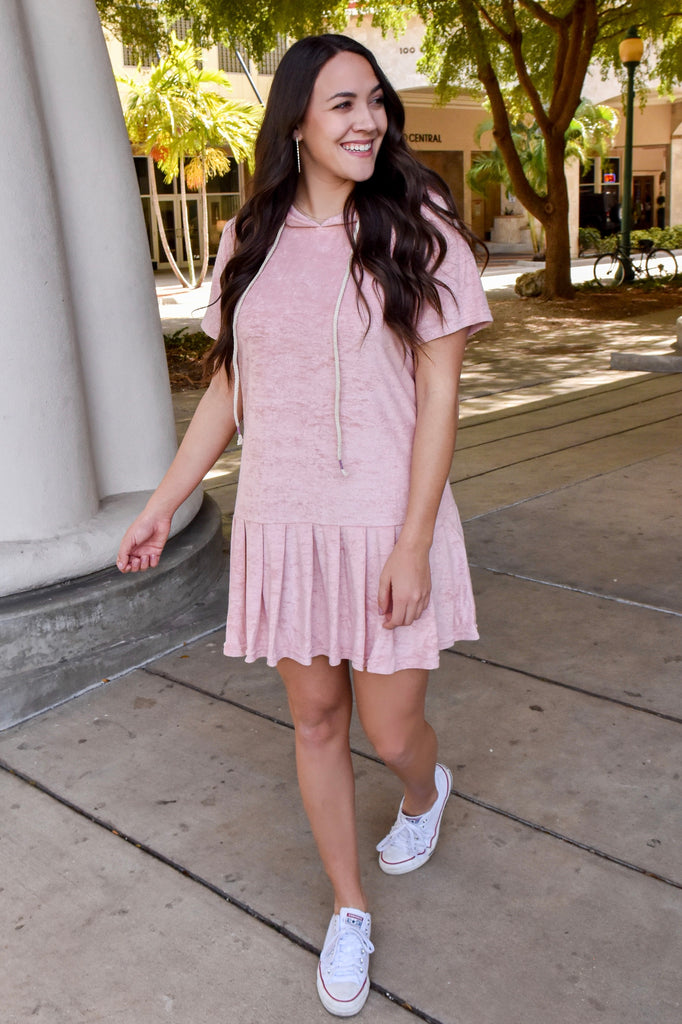 Sporty Spice Terry Cloth Dress