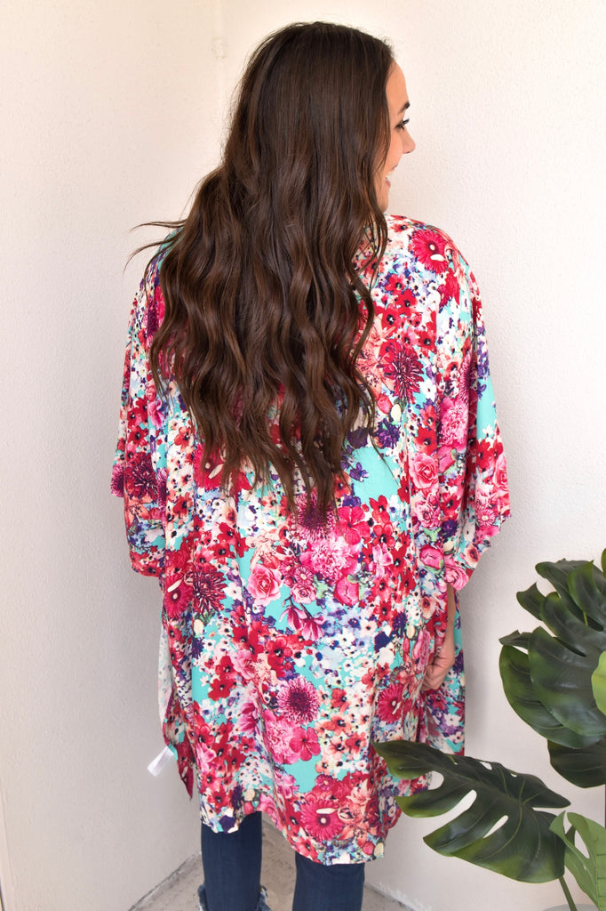 The Floral of Your Dreams Kimono