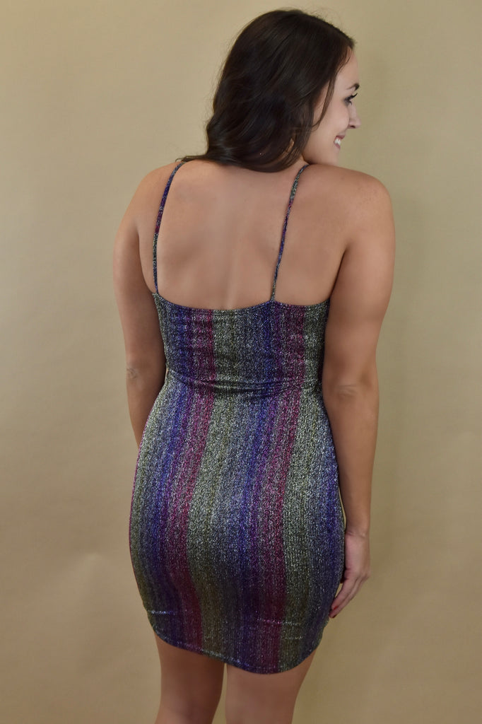 Dark Rainbow Sparkle Dress