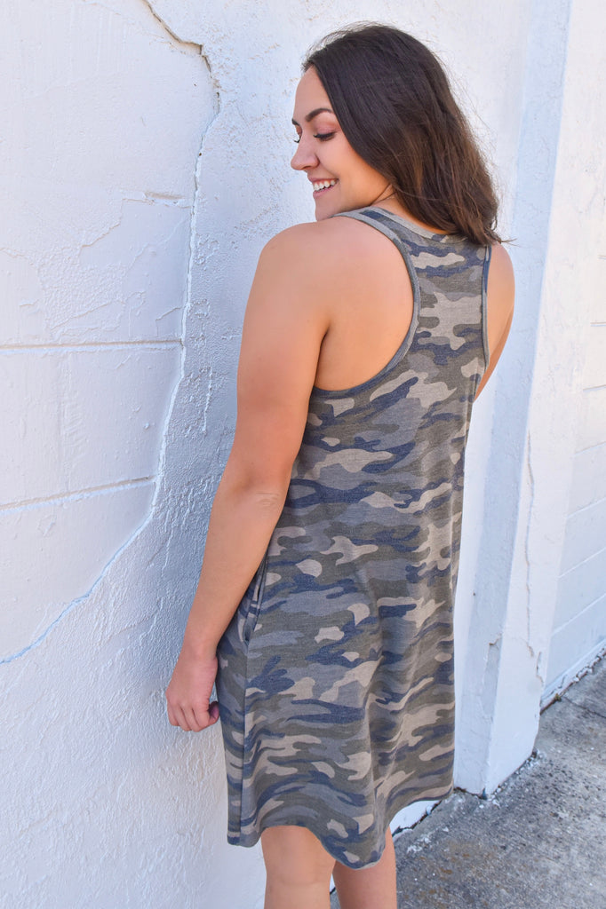 Finding Your Destiny Camo Dress