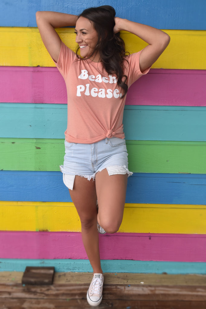 Beach, Please Tee