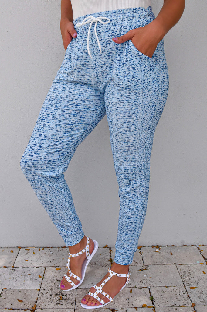 Light Blue Cloud Joggers