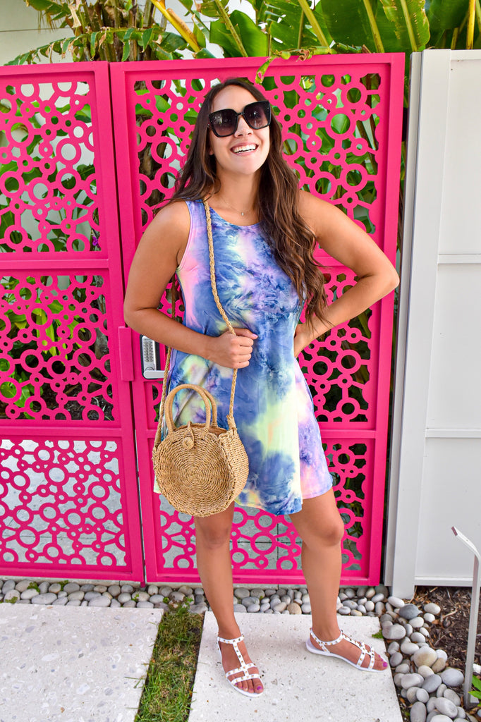 Summer Daze Tie Dye Dress