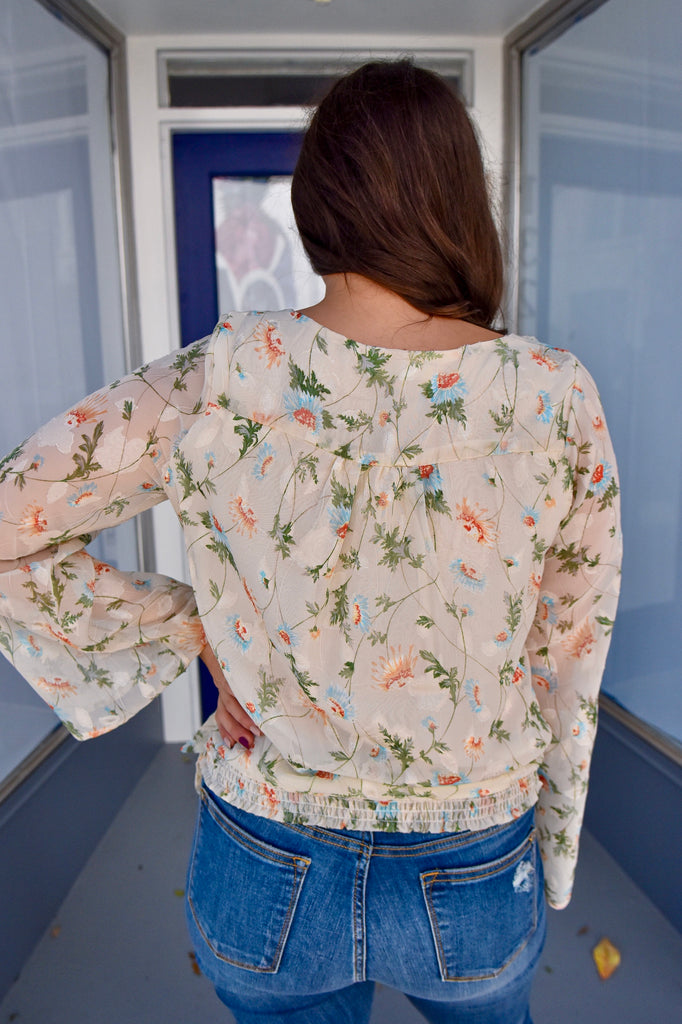 Vine Me in Heaven Embroidered Top - Vogue Society