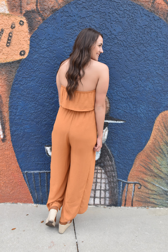 Dark Honey Jumpsuit