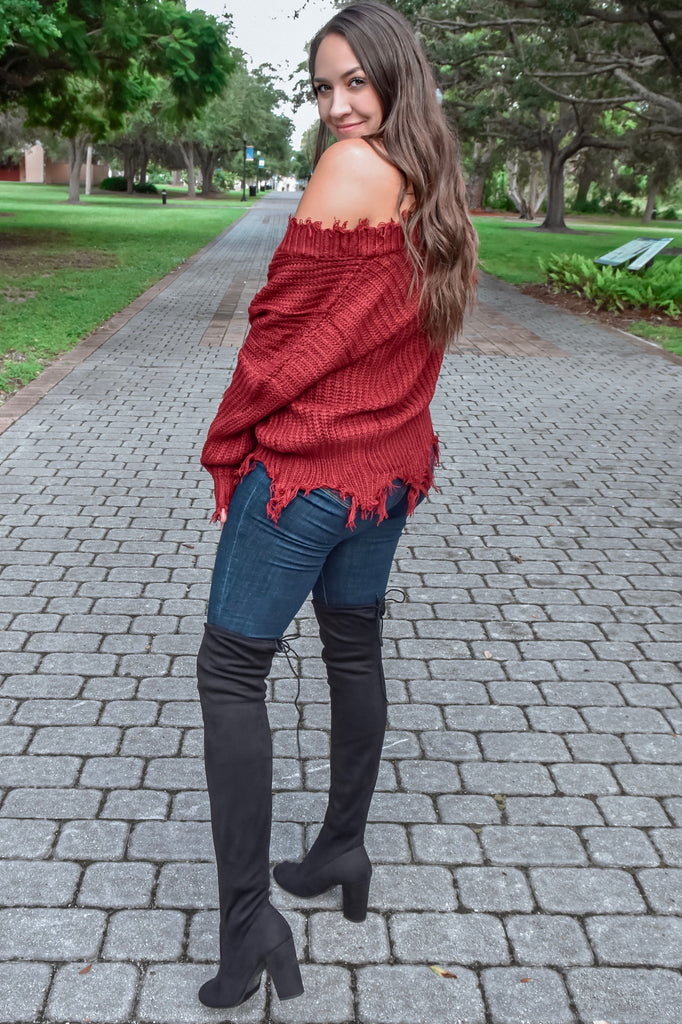 Midnight Moon Black Over The Knee Boot