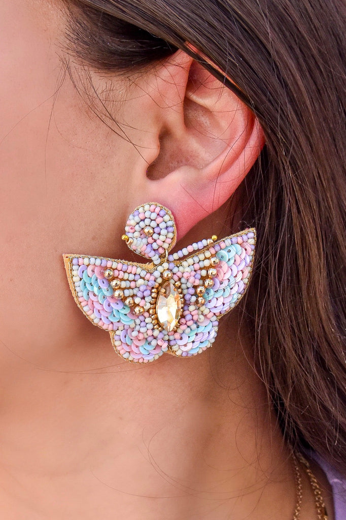 Dreamers Butterfly Earrings - Vogue Society