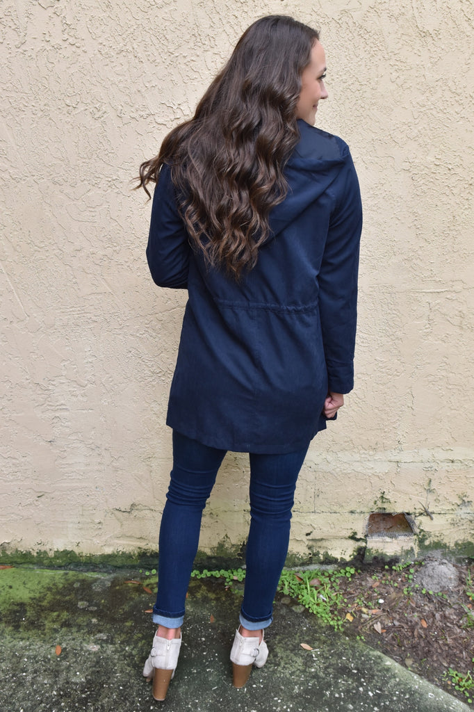 New York Days Navy Jacket