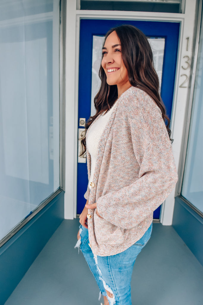 Girly Things Slouchy Cardi - Vogue Society