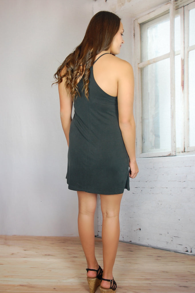 Little Black Washed Dress