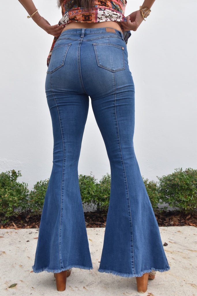 Groovy Bell Bottom Jeans