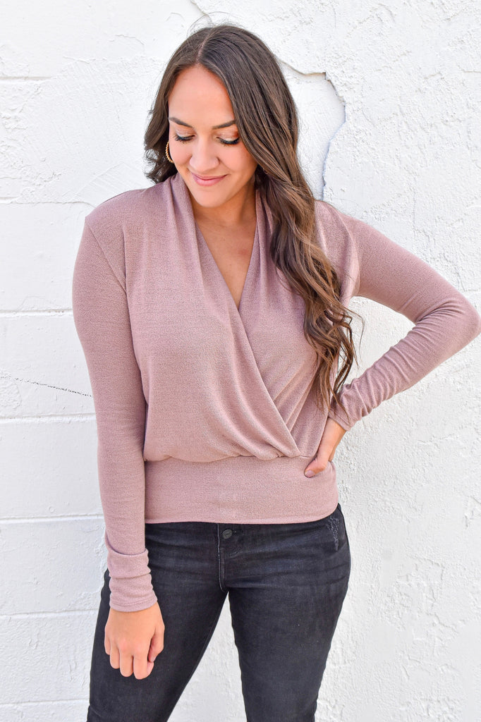 That's So Fetch Top- Mauve