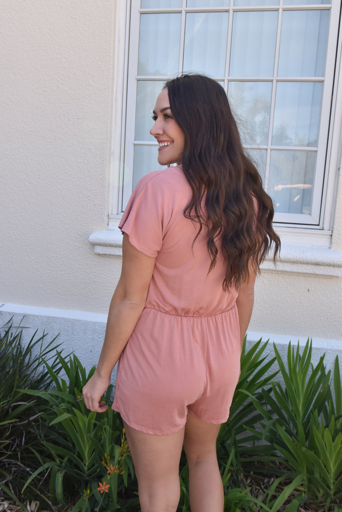 The Peachy Romper