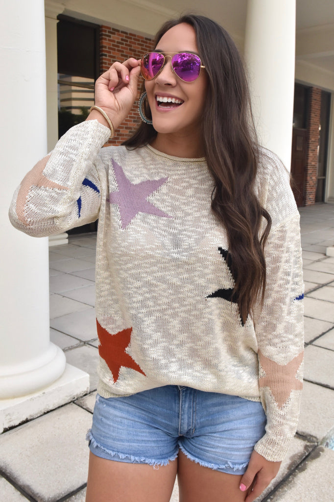 Super Star Lightweight Sweater
