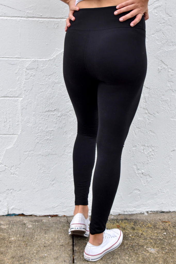 *RESTOCKED* The Cut Out Legging- Black