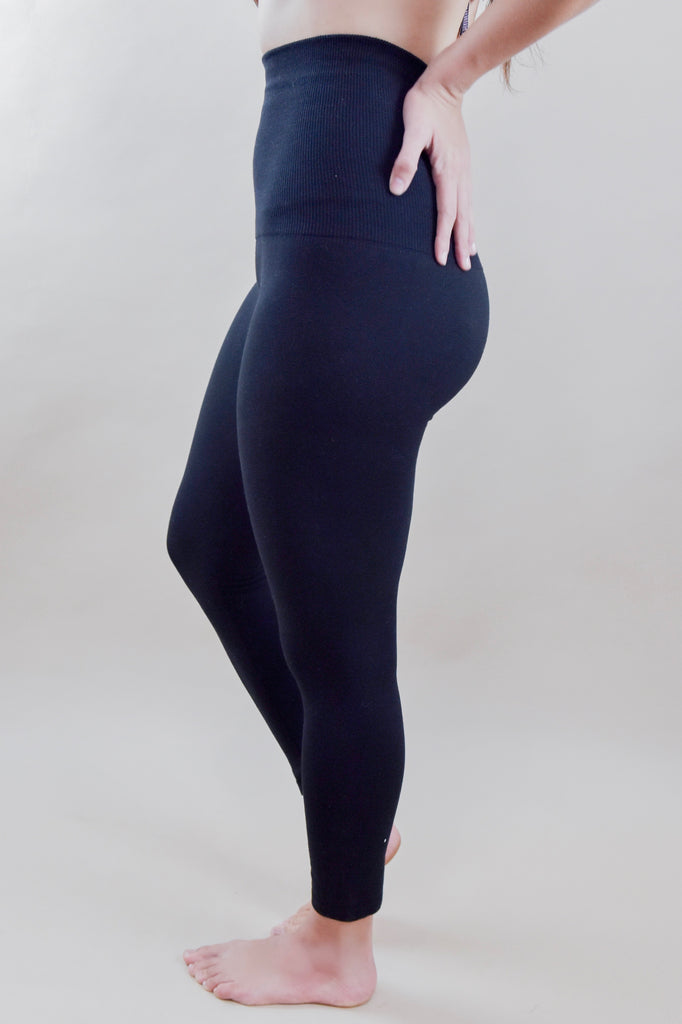 Tummy Control Black Leggings