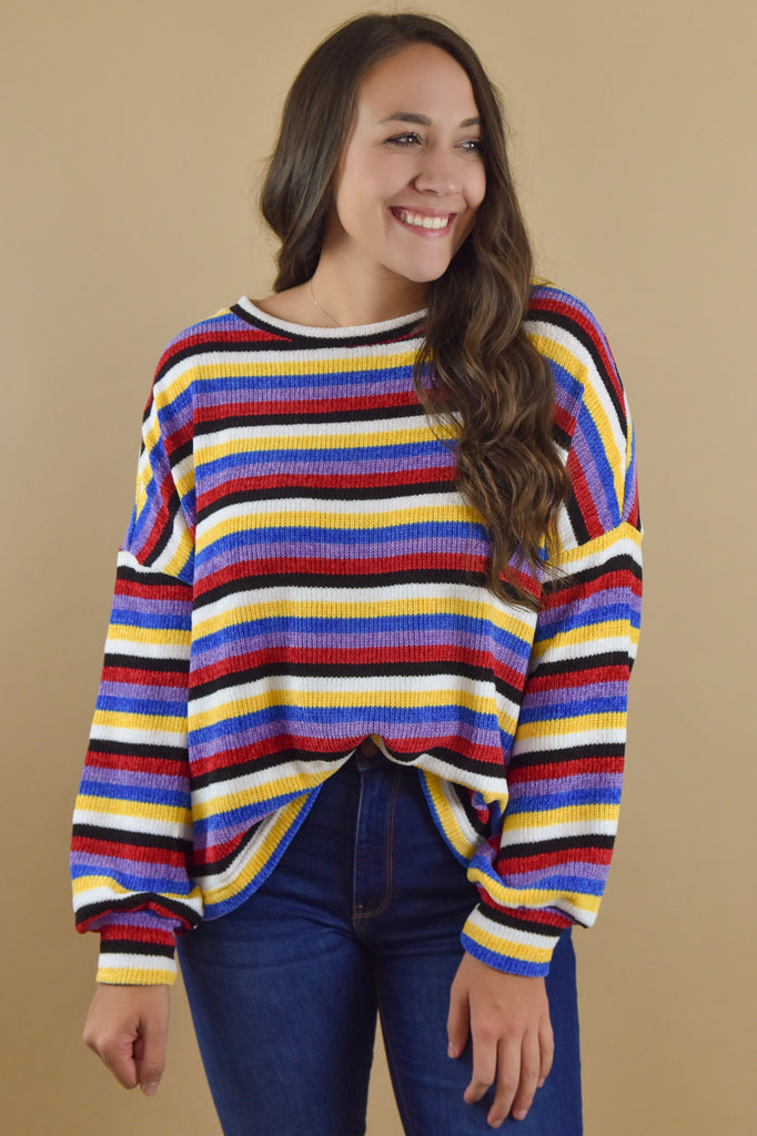 The Bold Life Striped Sweater