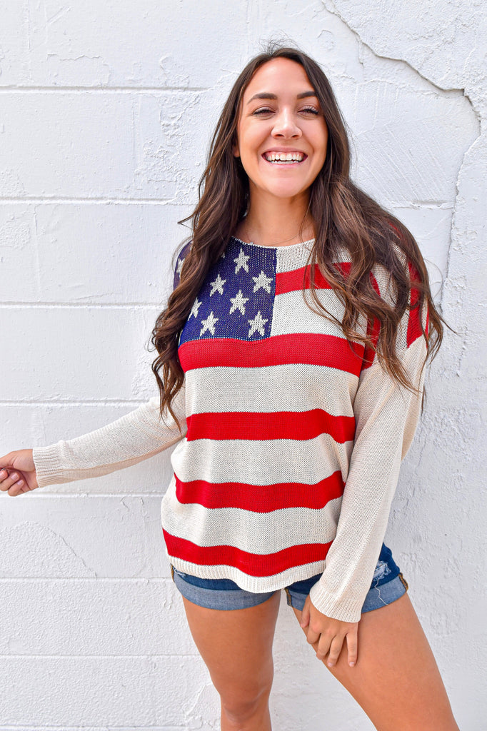 Born In The U.S.A. Lightweight Sweater