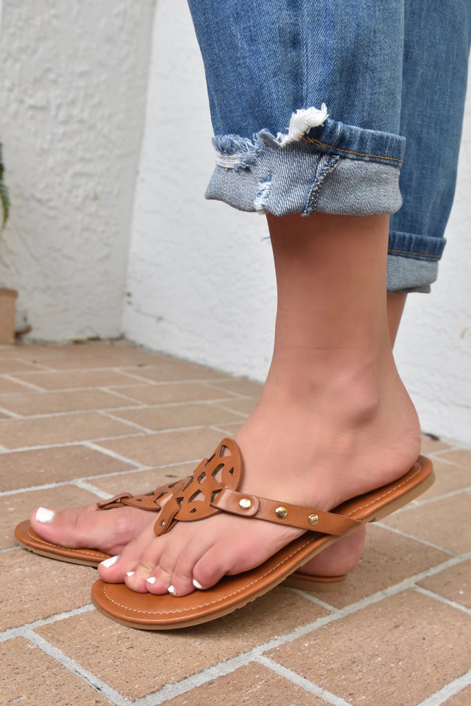 The Pierre Sandal- Tan