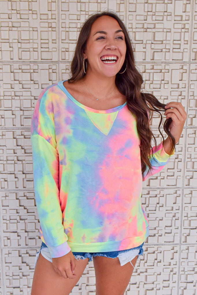 Mystic Wishes Pastel Crewneck