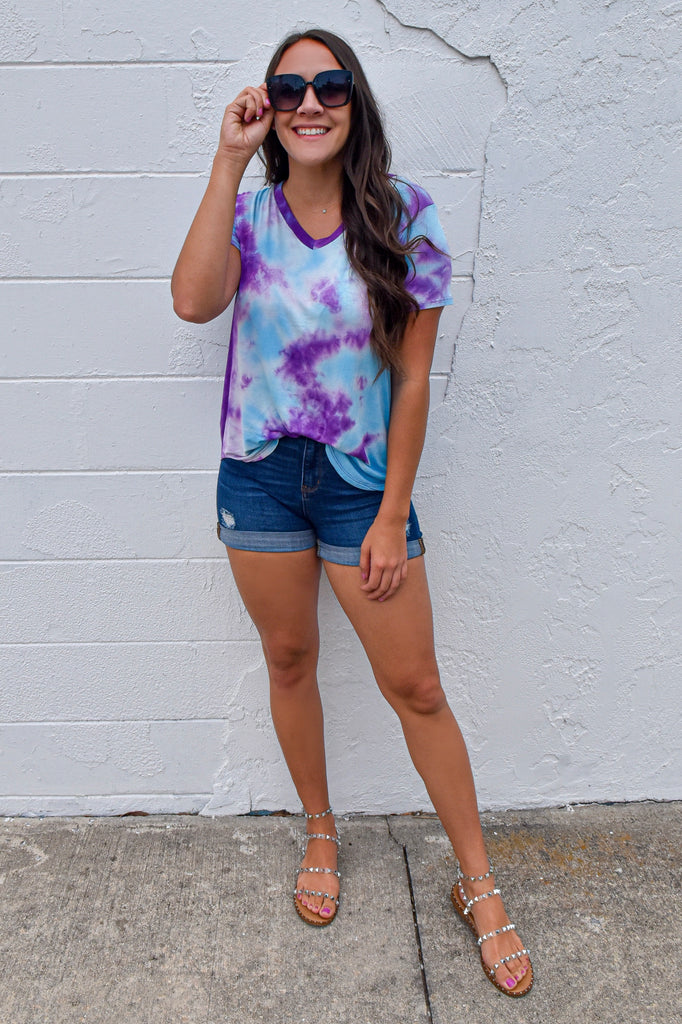 The Galaxy Tie Dye Tee