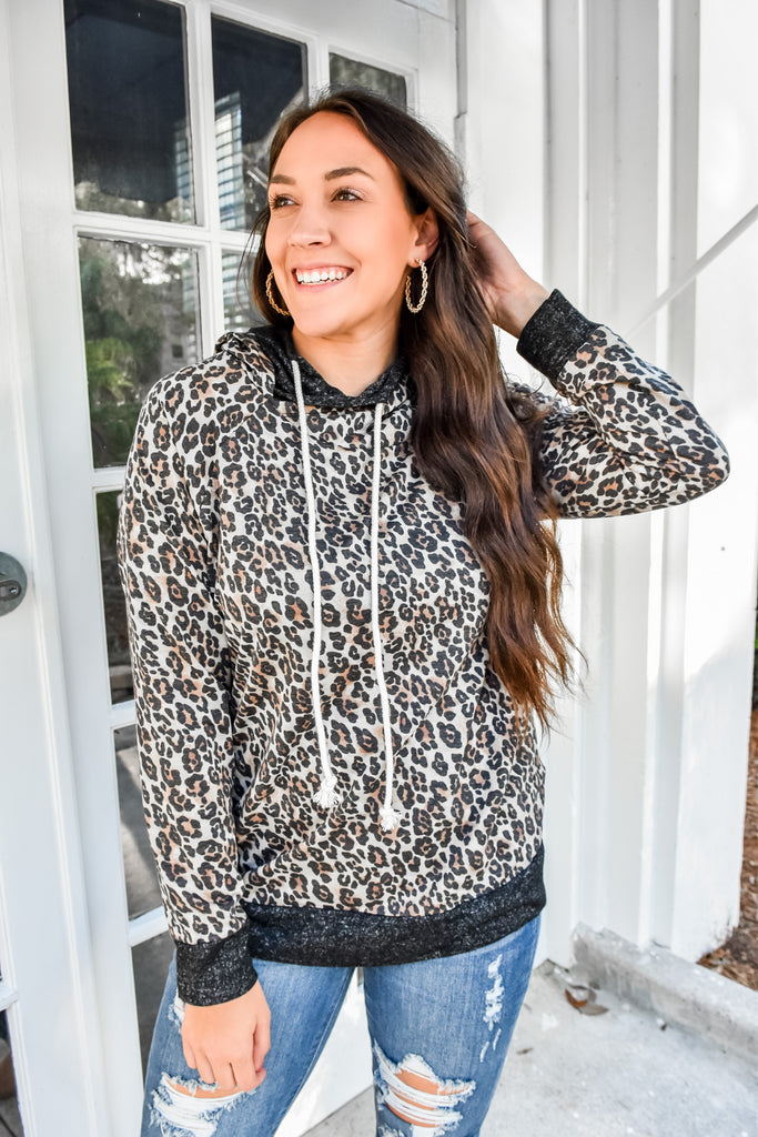The Leopard Double Hoodie