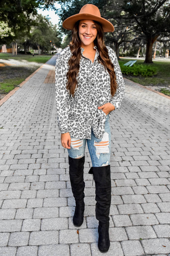 The Leopard Shacket