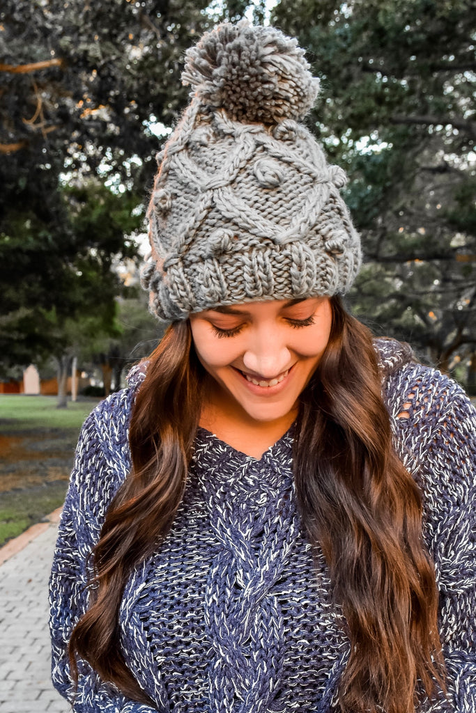 Christmas Dreaming Beanie- Grey