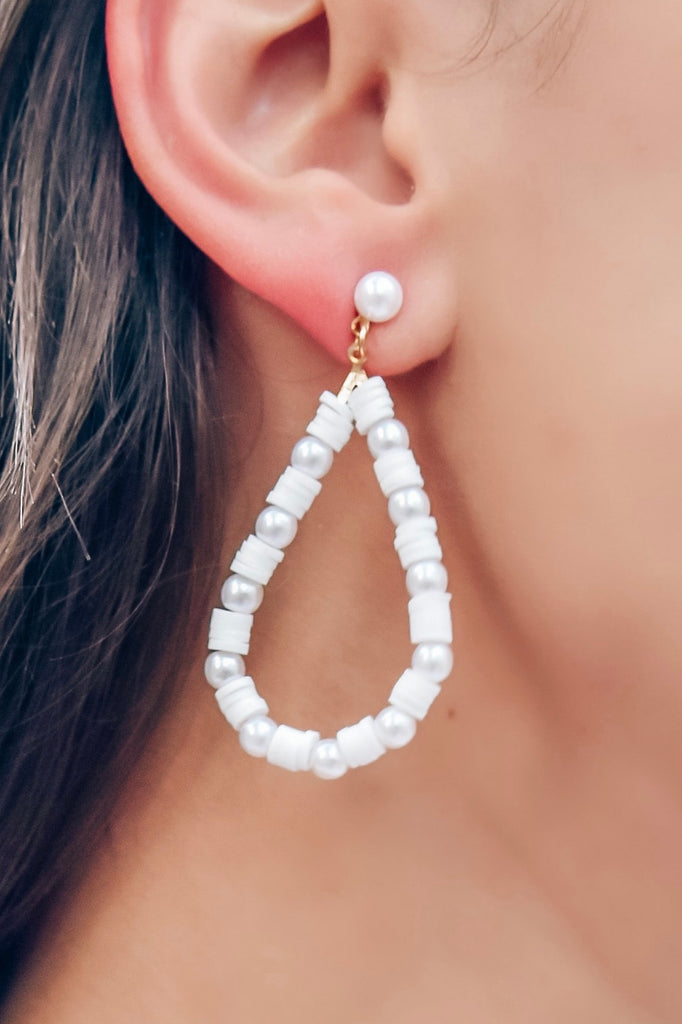 Honeymoon Teardrop Earrings - Vogue Society